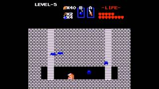 The Legend of Zelda - Legend of Zelda, The (NES) - Speedrun #1 - User video