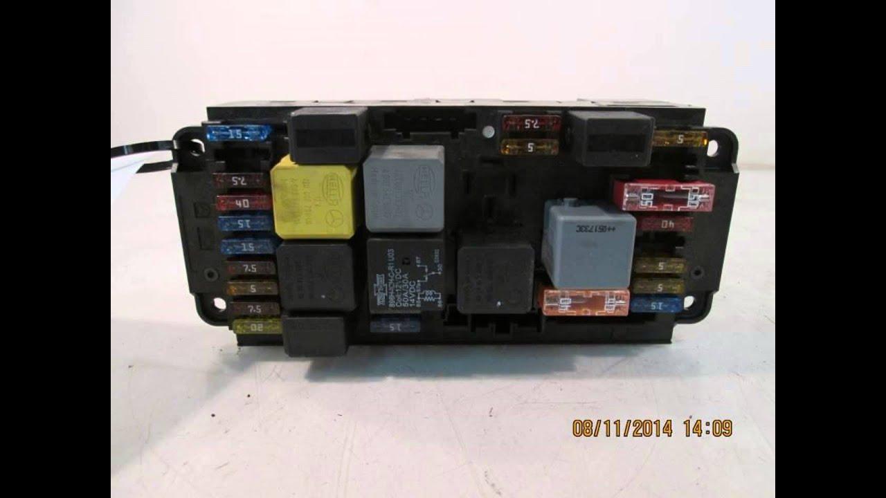 2006 mercedes c230 sam relay fuse box oem 2095452001 mbiparts com rh youtube com fuse chart mercedes benz fuse chart [ 1280 x 720 Pixel ]