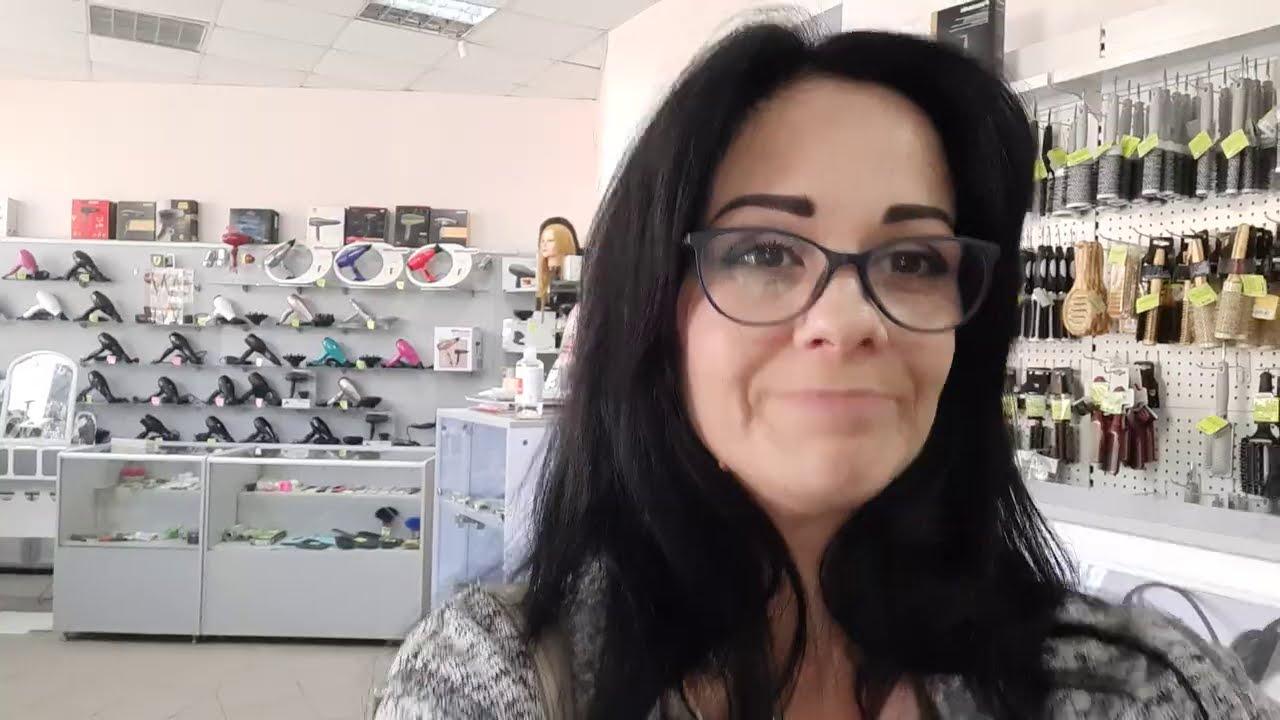 Покупки парикмахера в магазине SOLINGER! Трачу заработонное на YouTube!