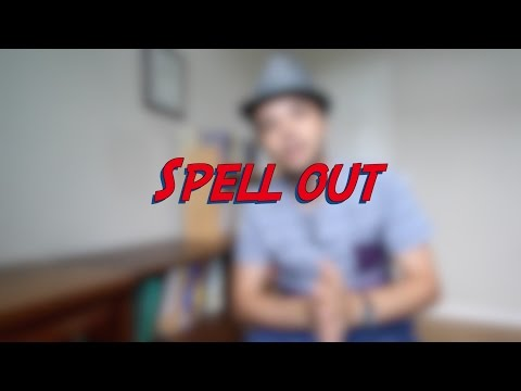 Spell out - W10D7 - Daily Phrasal Verbs - Learn English online free video lessons