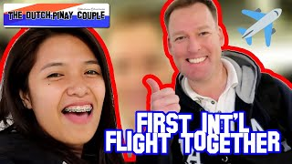 Vlog 10: Manila - Amsterdam Flight | Dutch & Filipina Couple