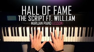 How To Play: The Script ft. Will.I.Am - Hall Of Fame | Piano Tutorial Lesson