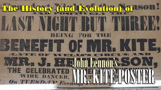 History and Evolution of the Mr. Kite Poster