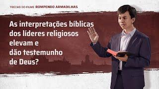 "Filme evangélico ""Rompendo armadilhas"" Trecho 2"