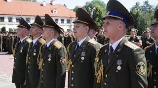 Выпуск курсантов военного факультета