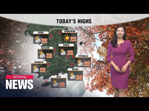 [Weather] Higher Than Average Temperatures Under Partly Sunny Skies
