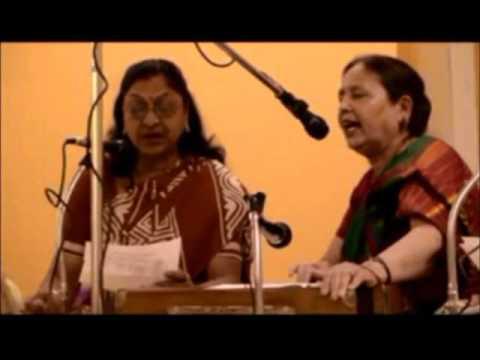 Lakshmi Mathur and Group sing 2 traditional Kajri Songs