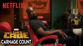 Luke Cage Season Two (2018) Carnage Count