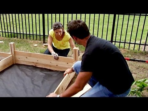 How to Build a Raised Garden Bed - DIY Network