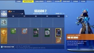 FORTNITE SEASON 7:  ALL 100 TIERS UNLOCKED, NEW MAP, CREATIVE MODE & MORE! (Fortnite)