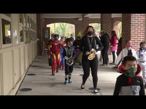 Bronxville Elementary School Halloween Parade 2020