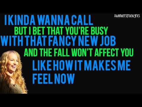 The Fall Song - Bridgit Mendler - Lyrics On Screen