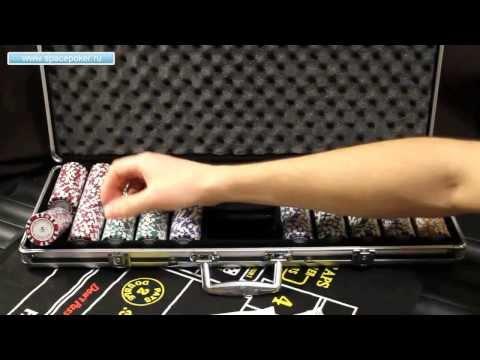Набор для покера Nightman 500 фишек - обзор от SpacePOKER