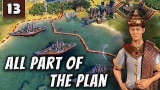 Civilization 6 Gathering Storm - It's All Part of the Plan - Part 13