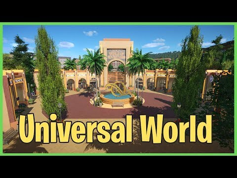 Universal World of Adventures! Park Spotlight 115 #PlanetCoaster