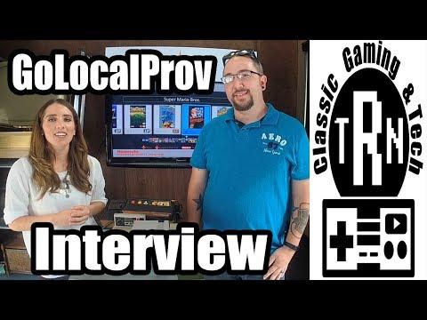 GoLocalProv Vintage Gaming Interview | TRN
