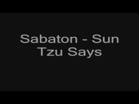 Sabaton -Sun Tzu Says (lyrics) HD mp3
