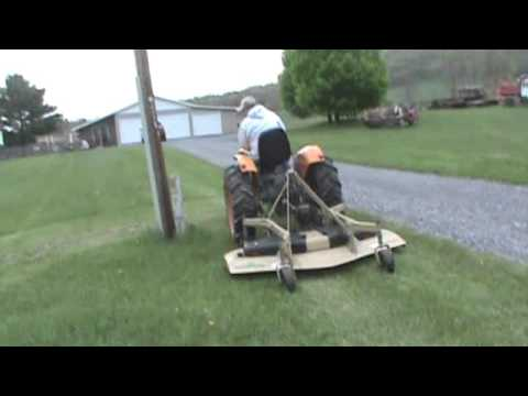 Land Price FRD2572 3 Point Hitch Finish Mower For Sale Mark Supply Co