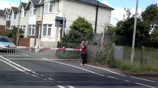 Totton Level Crossing 05/06/2015 MISUSE