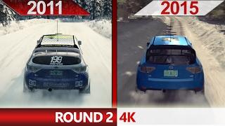 4K Comparison   DiRT3 (2011) ULTRA vs. DiRT Rally (2015) ULTRA   Round 2   GTX 970