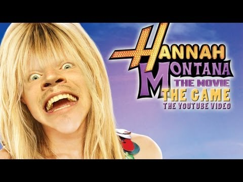 Thumbnail: OH THE HORROR! - Hannah Montana: The Movie: The Game: The YouTube Video