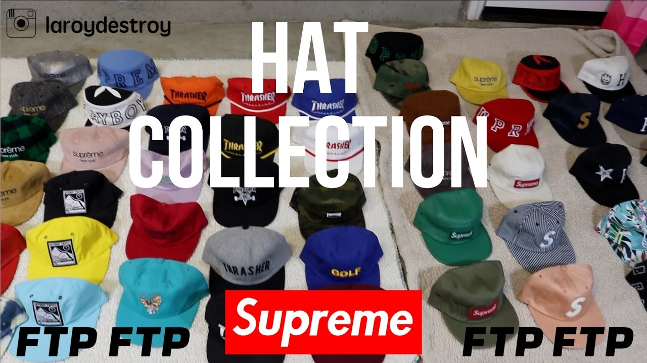 MY INSANE COLLECTION OF HATS!! (SUPREME 34bf6690723