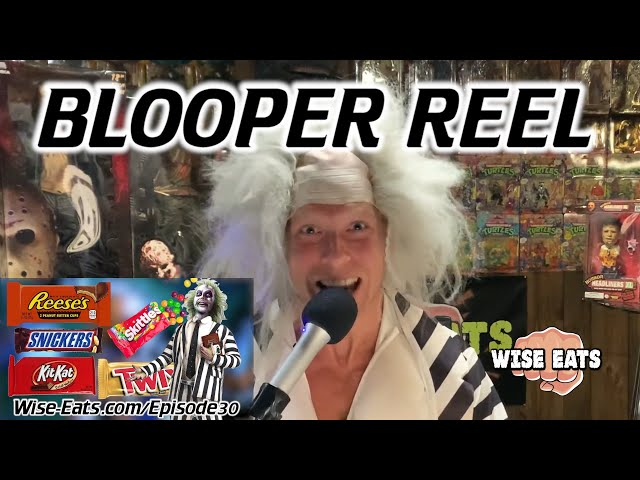 Blooper Reel / Outtakes from Episode 30 of the Wise Eats Podcast HAPPY HALLOWEEN