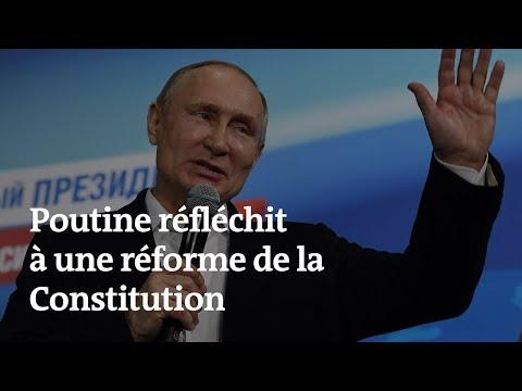 Deux mandats consécutifs maximum ? Vladimir Poutine avoue réfléchir à changer les règles