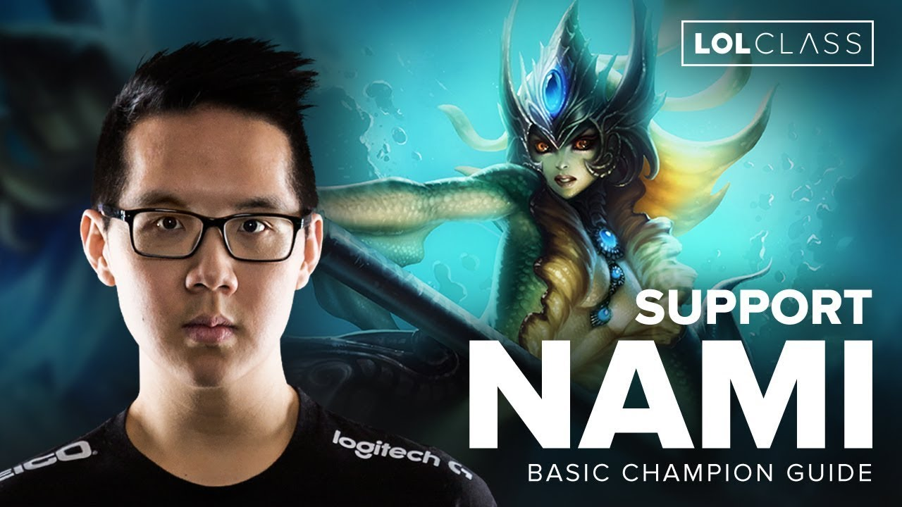 Nami Support Guide by Pro LoL player TSM YellowStar