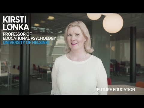 Kirsti Lonka: Education lifted Finland out of poverty