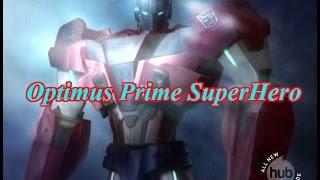 Optimus Prime SuperHero Клип Трансформеры Прайм 5