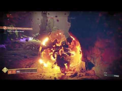 Destiny 2, Titan Sunbreaker, Legendary Lost Sector, Sanctum of Bones (4-13-20) |