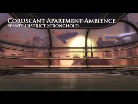 Coruscant - Skyrise Apartment (Star Wars Background Ambience)