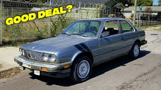 I Bought a 1987 BMW E30 - Rust Repair - Episode 1