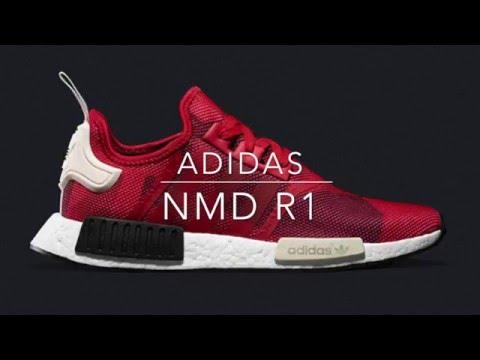 adidas NMD R1 'Abstract Red' - Kicks on Deck | Kicksologists.com