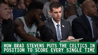 How Brad Stevens puts the Celtics in position to score EVERY SINGLE TIME