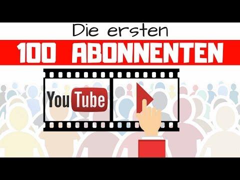 ► Schnell die ersten 100 Youtube Abonnenten bekommen - 5 Strategien für den Start auf Youtube