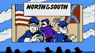 North and South - NES Gameplay