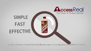 AccessReal: Moutai Authentication, Anti-Counterfeit Case Study