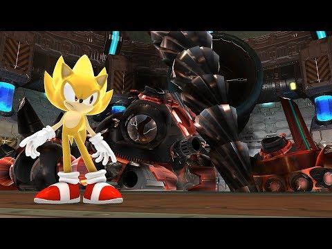 Super Sonic Generations - All Bosses HARD MODE (No Damage)