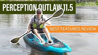 Perception Outlaw 11.5 Fishing Kayak Specs & Features Review and Walk-Around