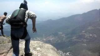 B.A.S.E  Jump - Pedra da Gavea_12JAN2009.