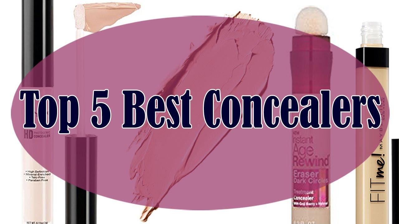 Top 5 Best Concealers in 2017 - YouTube