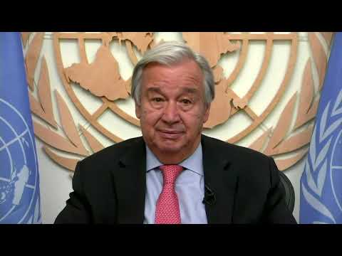 UN secretary general calls for safe reopening of tourism