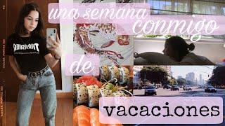 una semana conmigo de vacaciones | Buenos Aires, shopping, restaurantes, navidad :)