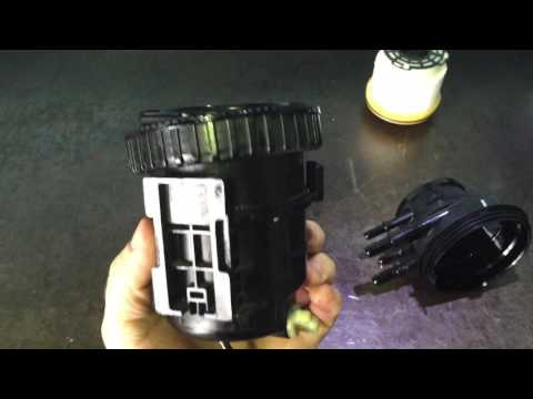 Ford Ranger Wildtrack Diesel Fuel Filter Replacement