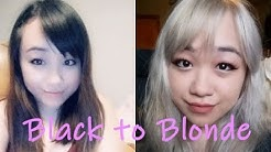 Black To Blonde (ONLY BLEACHED 2 TIMES WITH 20 VOL)