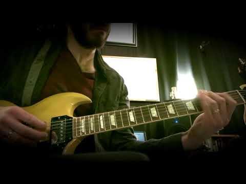 Gibson SG & Line 6 Helix Jam - E major / C# minor