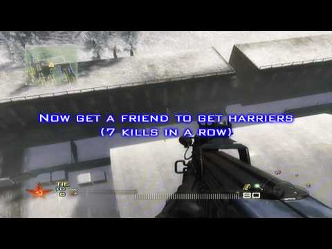 Call Of Duty MW2 Glitches: Kill A Harrier With Knife / Inside Harrier