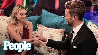 The Bachelor: Olivia Caridi & Bob Guiney Analyze Corinne's Hijinks & More | People NOW | People